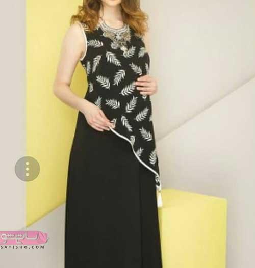 عکس لباس مجلسی بارداری دو تیکه 98