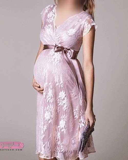عکس مدلهای جدید لباس بارداری