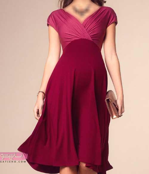 مدل لاکچری لباس مجلسی بارداری 98