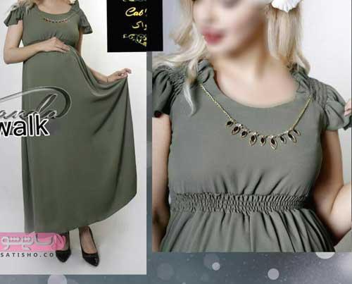عکس لباس مجلسی بارداری ارزان