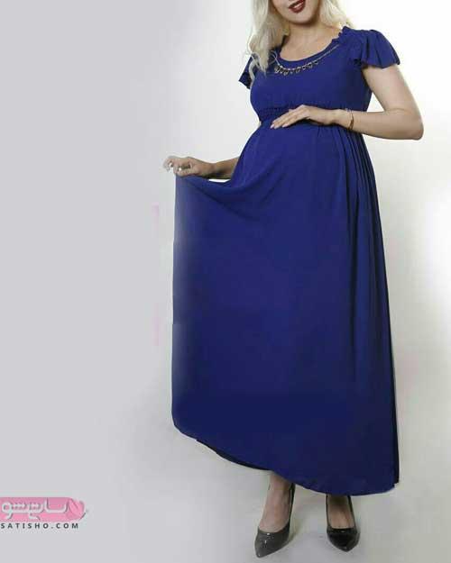 لباس مجلسی بارداری با تن خور عالی