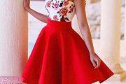 کالکشنی از عکس های مدل لباس مجلسی قرمز در طرح های متنوع