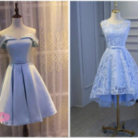 لاکچری ترین تصاویر جدیدترین مدل لباس مجلسی کوتاه دخترانه ۲۰۱۹