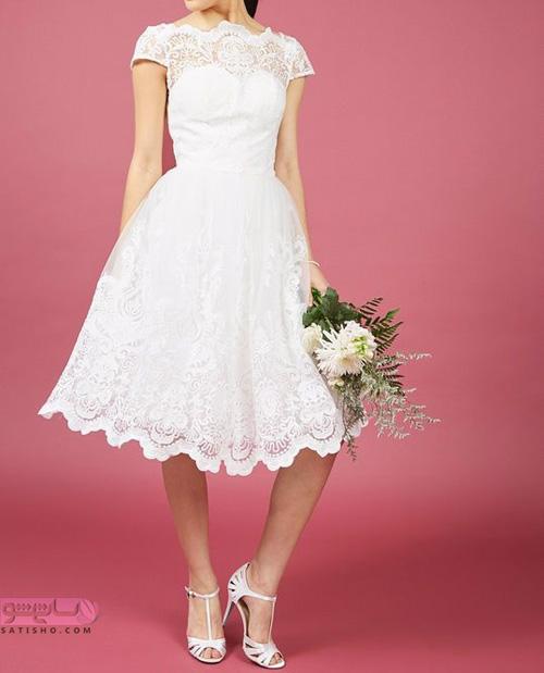زیباترین مدل لباس مجلسی کوتاه دخترانه