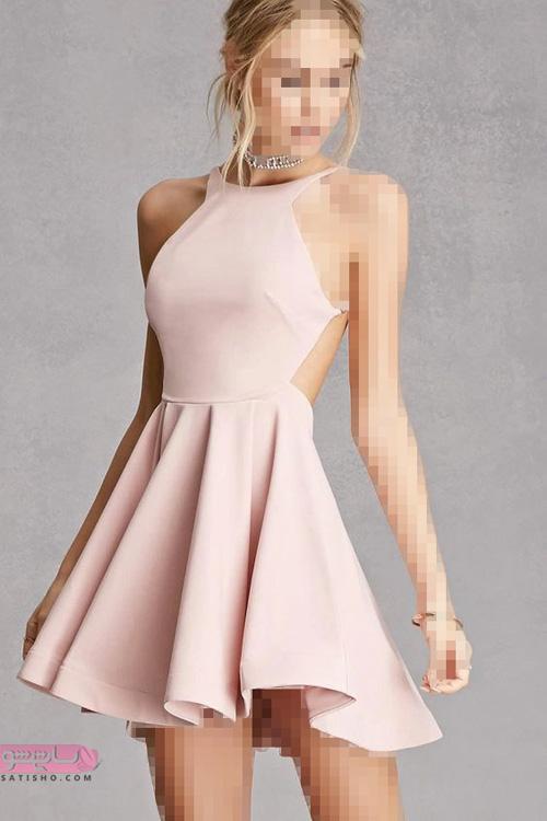 شیک ترین لباس های مجلسی کوتاه زنانه