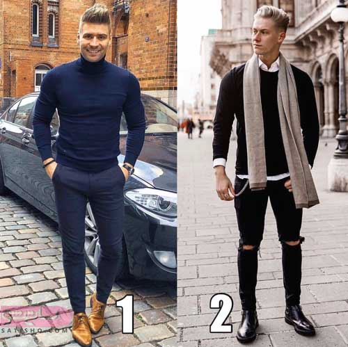 انواع مدل لباس شیک پسرانه 98 جدید