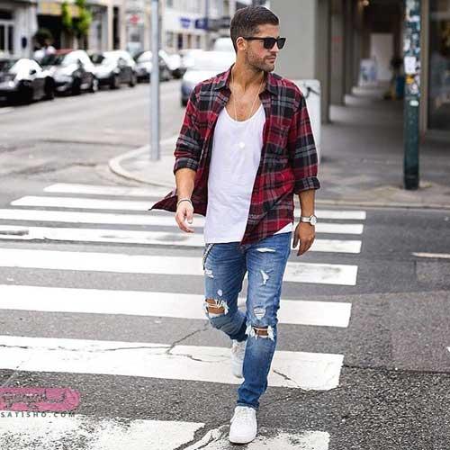 انواع مدل ست لباس مردانه 98 با رنگبندی جدید و خاص
