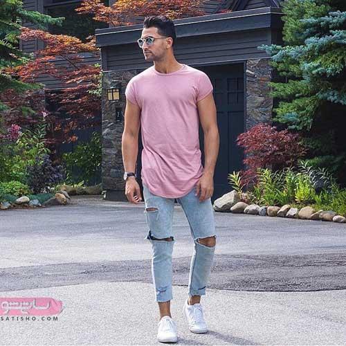 مدل پیراهن مردانه ۹۸ با زیباترین طرح و رنگ های مد سال
