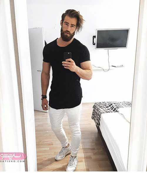 مدل پیراهن و شلوار شیک مردانه
