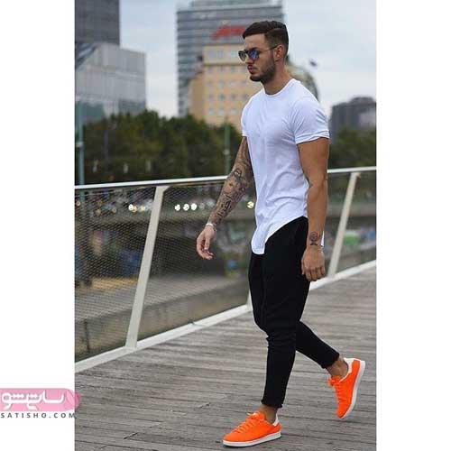 مدل ست تیشرت بلند مردانه اسپرت