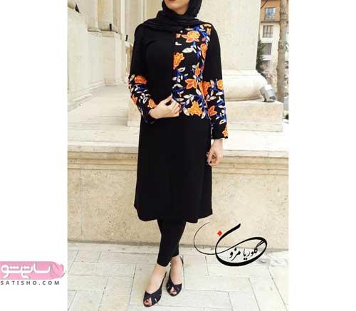 جدیدترین مدل لباس مجلسی گیپور بلند