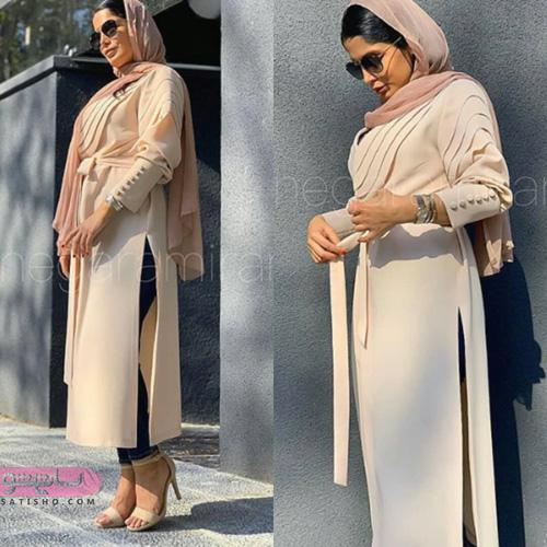 جدیدترین مدلهای مانتو بلند عربی