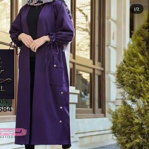 مدل مانتو بلند عربی زیبا