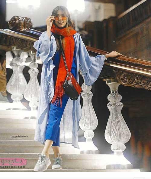 عکس مدل مانتو بلند و زیبا