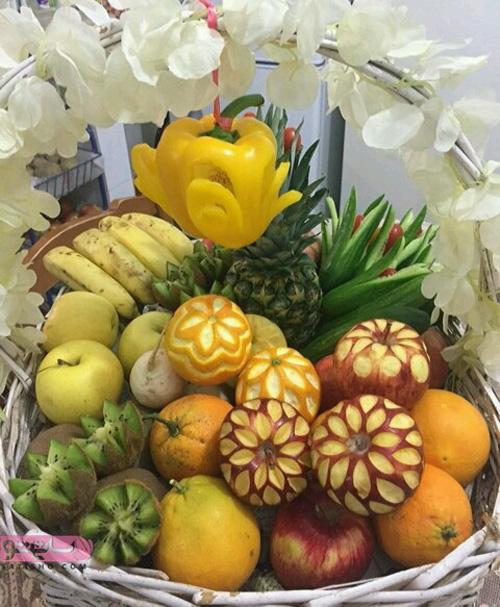 مدل میوه آرایی سفره عقد