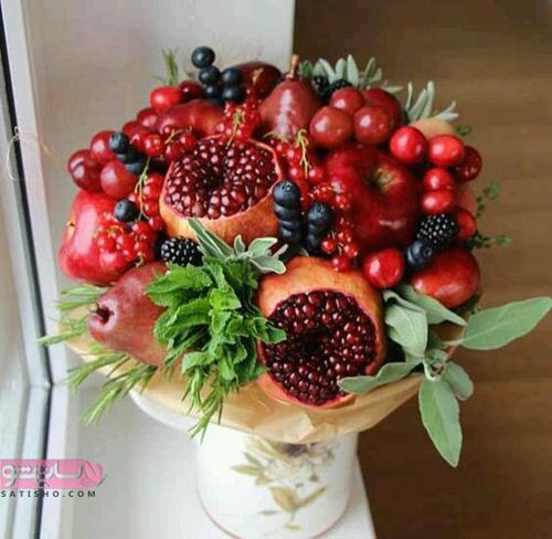 انواع میوه آرایی های جدید 98 و 2019