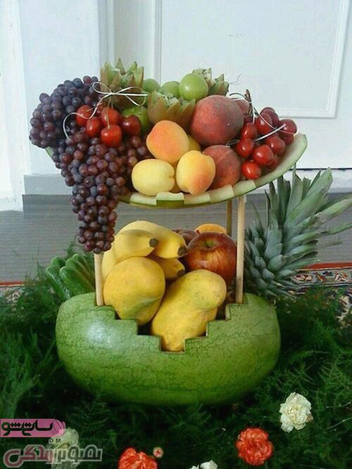 انواع وسایل میوه آرایی 98 و 2019