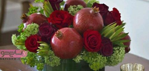 تصاویر میوه آرایی هندوانه