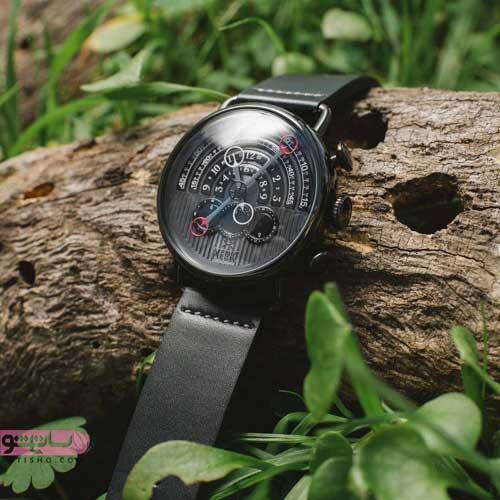 طرح های بسار شیک از مدل ساعت مردانه مشکی رنگ