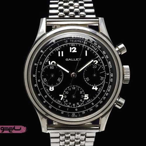 زیباترین ساعت مردانه نقره ای رنگ خوشگل