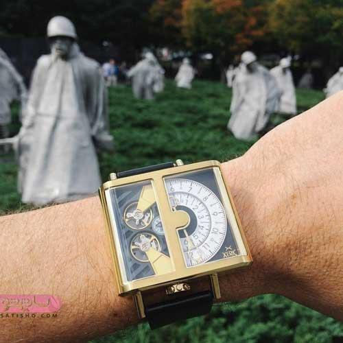 زیباترین ساعت مردانه اسپرت با طرح خاص
