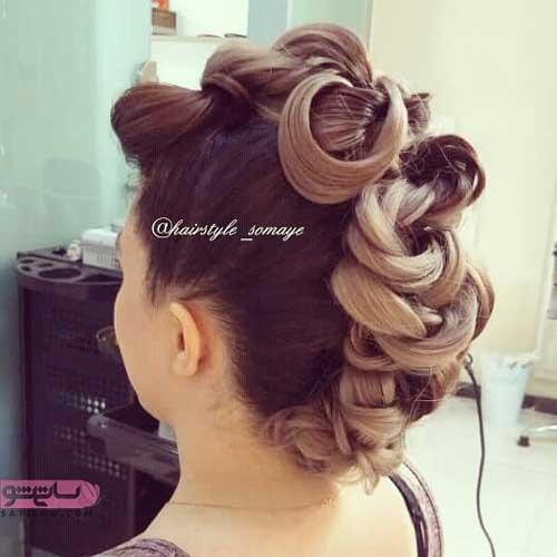 مدل موهای شینیون دخترانه جدید
