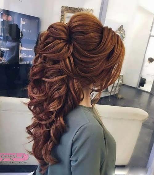 مدل شینیون مو جدید در اینستاگرام