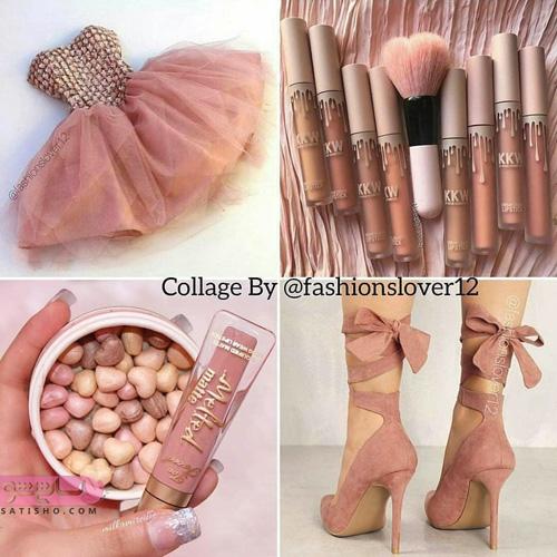عکس های شیک لباس مجلسی و کفش دخترانه