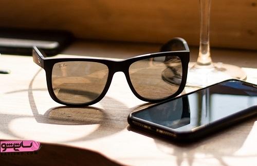 شکل عینک آفتابی اصل