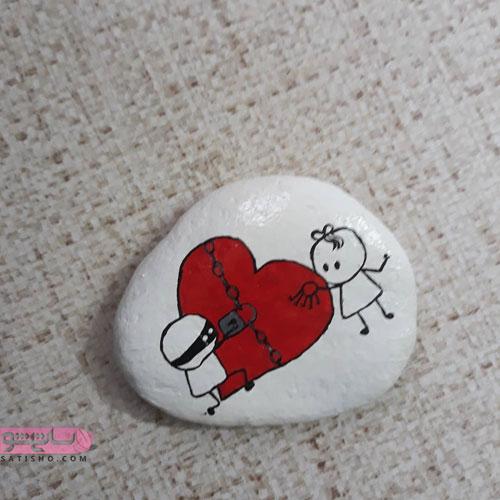 ایده خلاقانه برای کاردستی با سنگ