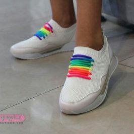 عکس های کفش اسپرت سفید دخترانه