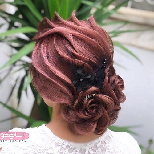 عکس شینیون موی خوشگل جدید 2019