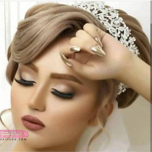 عروس زیبا و ملیح با متد ملایم آرایش 98