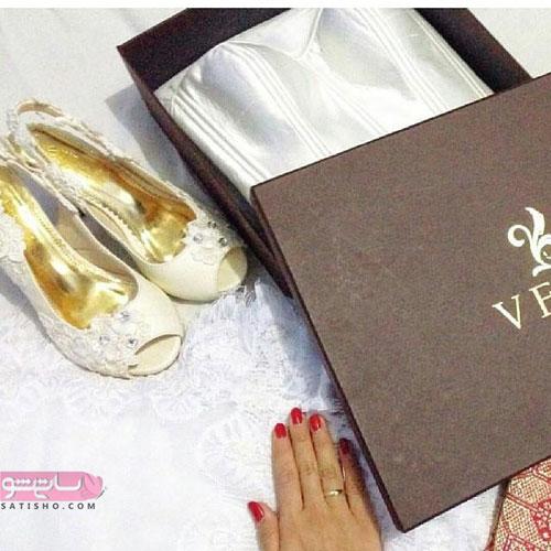کفش جلوباز خوشگل مخصوص عروسی