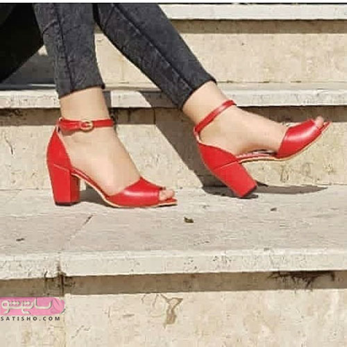 مدل کفش مجلسی دخترانه و زنانه بنددار مخصوص عروسی