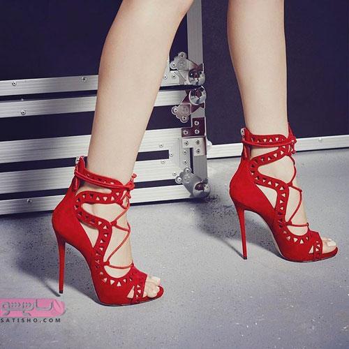 عکسهای مدل کفش لاکچری برای نامزدی