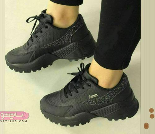 جذاب ترین کفش اسپرت مشکی دخترانه 2019