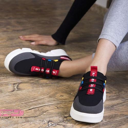 کفش اسپرت دخترانه زیبا