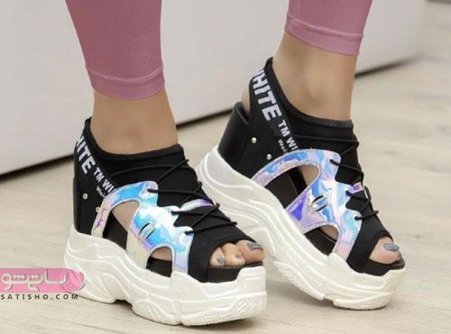 عکس کفش اسپرت دخترانه 98