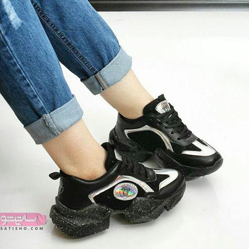 جدیدترین کفش اسپرت مشکی لژ لمه