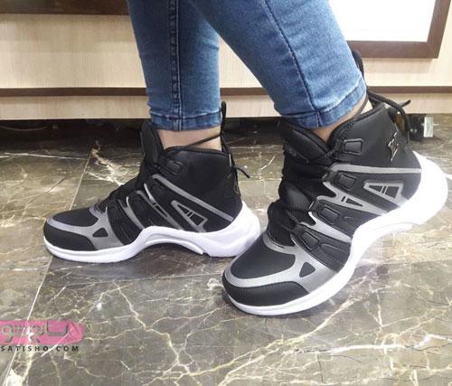 عکس کفش اسپرت مشکی دخترانه
