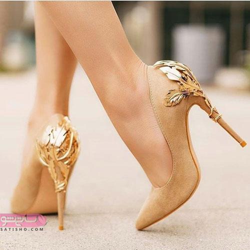 عکس جدیدترین مدل کفش های مجلسی دخترانه