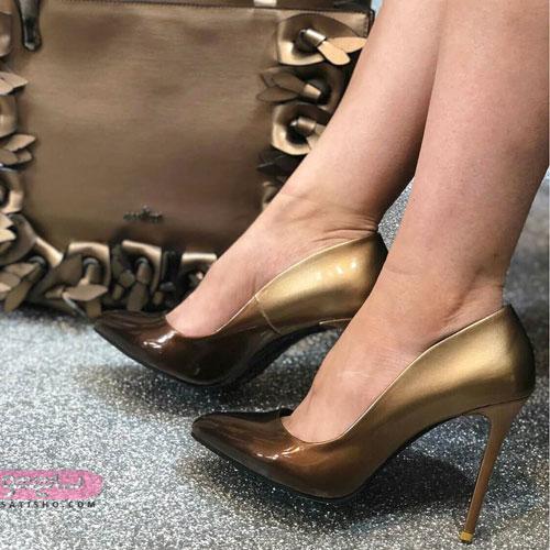جدید ترین مدل کفش مجلسی دخترانه با کیف