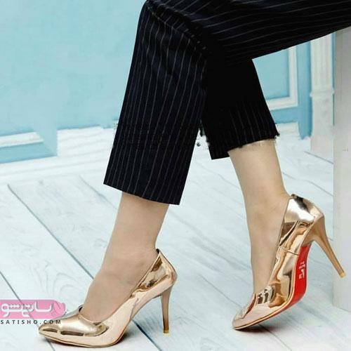 دانلود مدل کفش مجلسی پاشنه بلند