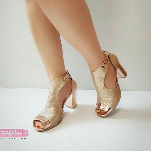 انواع کفش پاشنه بلند مجلسی