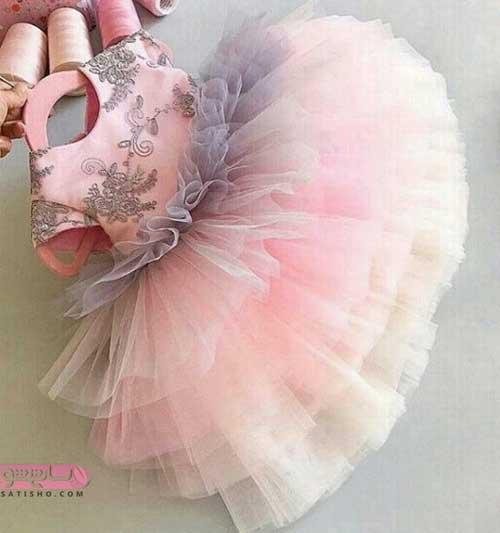 انواع لباس پرنسسی بچه گانه جدید