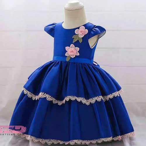 جدیدترین مدل لباس عروس بچه گانه پرنسسی