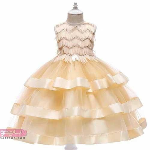 تصاویری از لباس عروس بچه گانه