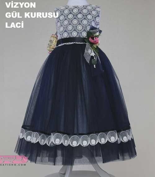 عکس از مدل لباس عروس بچه گانه