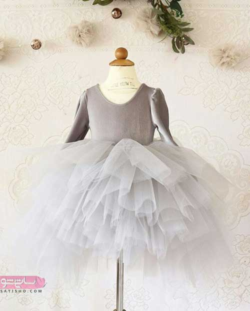 عکس لباس عروس بچه گانه ایرانی